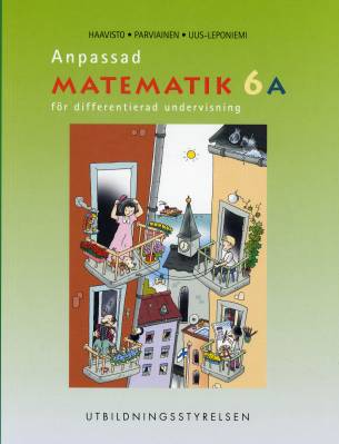 Anpassad matematik 6 A