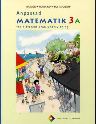Anpassad matematik 3 A