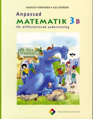 Anpassad matematik 3 B