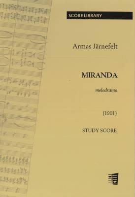 Miranda, melodrama (study score)