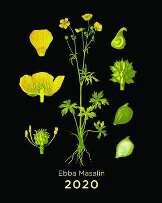 Ebba Masalin 2020 (seinäkalenteri)