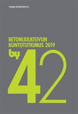 by 42 Betonijulkisivun kuntotutkimus 2019
