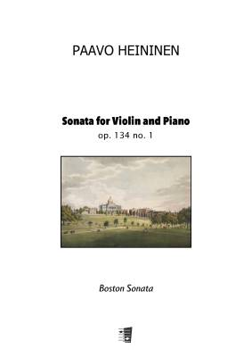 Sonata for Violin and Piano op. 134 no. 1 - Boston Sonata