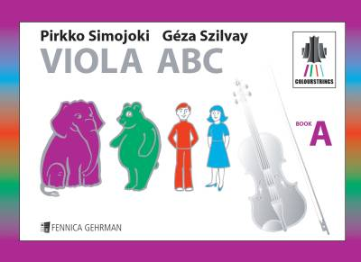 Colourstrings Viola ABC (Book A)