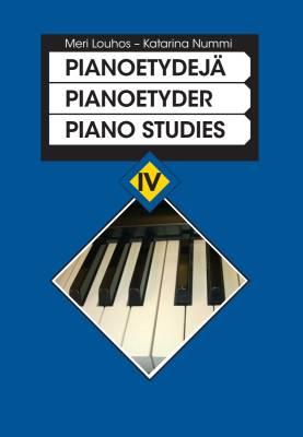 Pianoetydejä 4 - Piano studies 4 (piano)