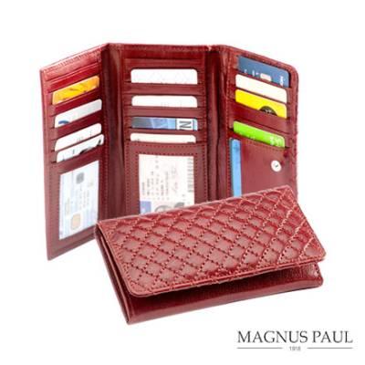 Tikkikuvioinen naisten lompakko RFID