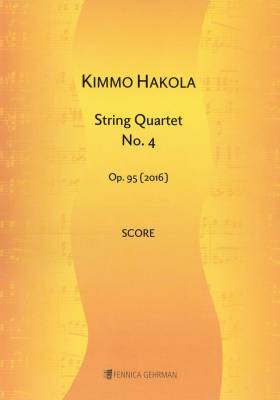 String Quartet No. 4 op. 95 - Score