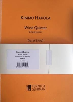 Wind Quintet op. 96 (2017) - Parts