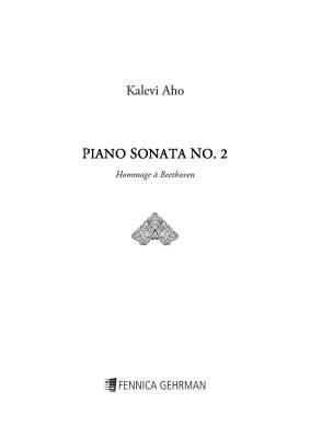 Piano Sonata No. 2 - Hommage à Beethoven