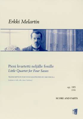 Pieni kvartetti neljälle fonille / Little Quartet for Four Saxes (4sax) (arr. Eskola)