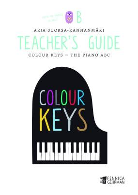 Colour Keys the Piano ABC, Teacher's Guide B -Piano
