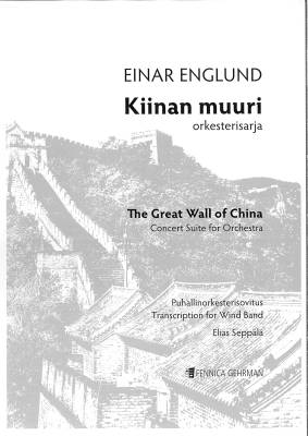 Kiinan muuri - The Great Wall of China : Score and parts