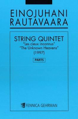 """String Quintet """"Les cieux inconnus"""" (Unknown Heavens)"""