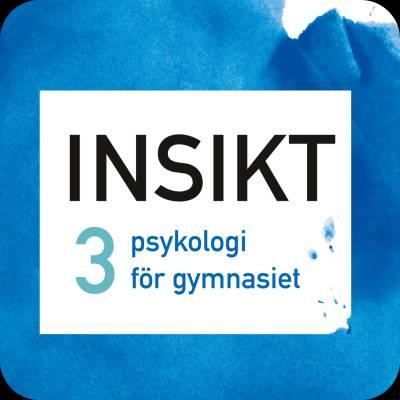 Insikt 3 psykologi för gymnasiet digibok 48 mån ONL