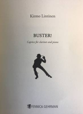 Buster! Caprice for clarinet and piano