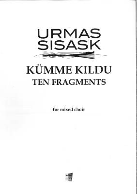 Kümme kildu - Ten Fragments