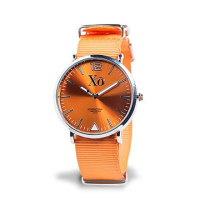 XO-kello oranssi