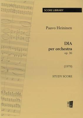 DIA per orchestra op. 36  - study score