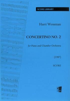 Concertino No. 2 for Piano and Chamber Orchestra - Score, piano reduction, parts (33221)