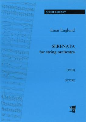 Serenata for string orchestra - score