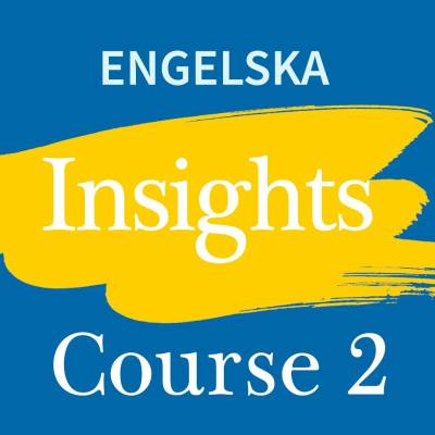 Insights Course 2 digibok 48 mån ONL