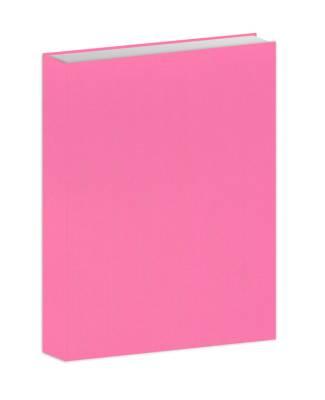 Bujo-muistikirja pinkki kangas