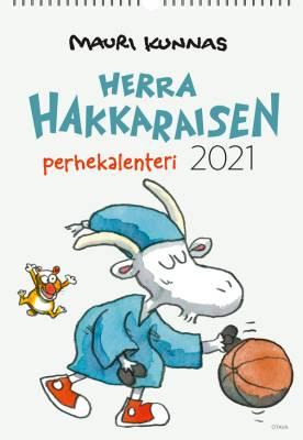 Herra Hakkaraisen perhekalenteri 2021