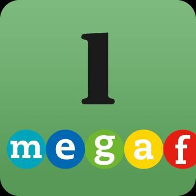 Megafon 1 digipaketti (digikirja + digitehtävät) ONL