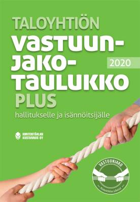 Taloyhtiön vastuunjakotaulukko Plus 2020