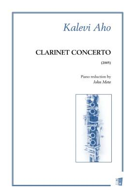 Clarinet Concerto - Solo part & piano reduction