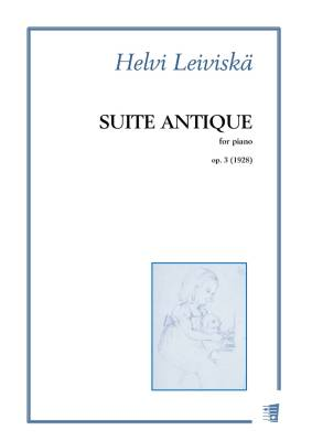 Suite antique op. 3 - Piano