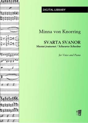 Svarta svanor - Mustat joutsenet - Schwarze Schwäne - Voice/piano