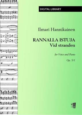 Rannalla istuja / Vid stranden op. 5/1 - Voice/piano (PDF)