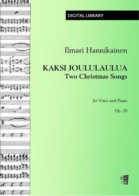 Kaksi joululaulua / Two Christmas Songs op. 26 - Voice/piano (PDF)