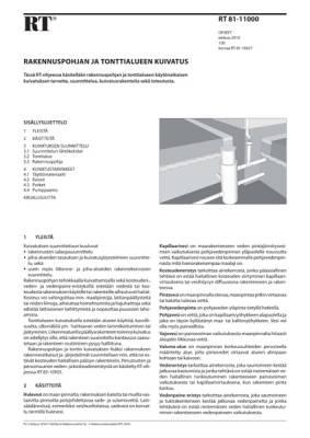 RT 81-11000, Rakennuspohjan ja tonttialueen kuivatus