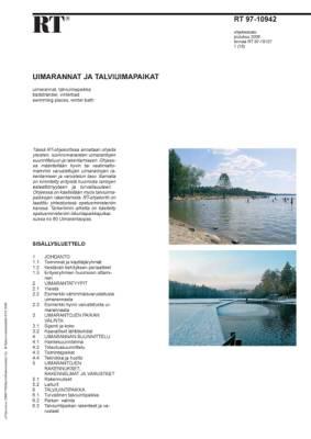 RT 97-10942, Uimarannat ja talviuimapaikat