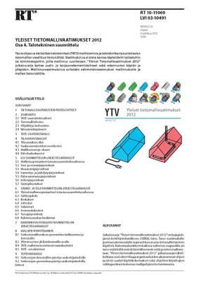 RT 10-11069, Yleiset tietomallivaatimukset 2012. Osa 4. Talotekninen suunnittelu (Versio 1.0, 2012)