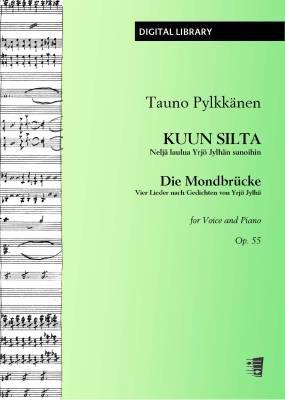 Kuun silta / Die Mondbrücke op. 55 - Voice/piano (PDF)