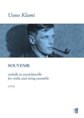 Souvenir for violin and string ensemble - Score & parts (solo, 33221)