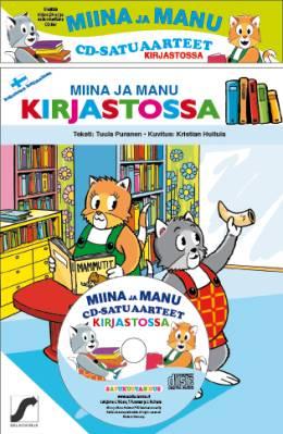 Miinan ja Manun cd-satuaarteet  (kirja + cd-levy)