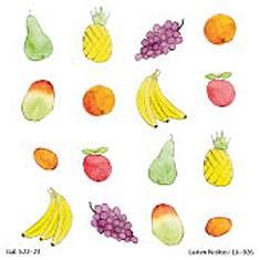 Hengen hedelmät -tarrat (20 arkkia)