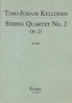 String Quartet No. 2 op 23