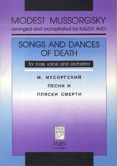Songs and Dances of Death - Bass/orchestra