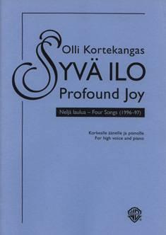 Syvä ilo / Profound Joy (high voice)