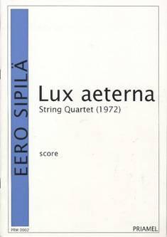 "String Quartet ""Lux aeterna"""