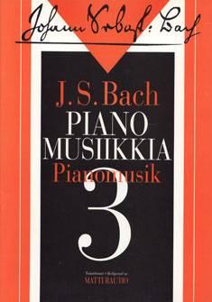 Pianomusiikkia 3 / Music for Piano 3