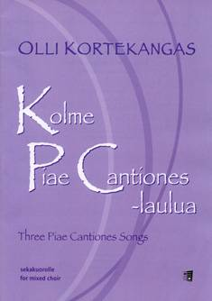 Three Piae Cantiones Songs / Kolme Piae cantiones -laulua