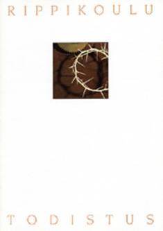 Rippikoulutodistus Orjantappura (20 kpl)