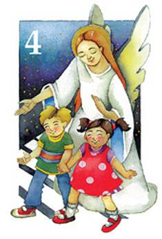 Onnea ja siunausta 4-v./Juvonen (20 kpl)