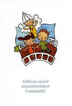 5-vuotiaalle (Haiko) (20 kpl)